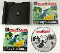 Jeu Playstation 1 PS1 VF  Monopoly  avec notice  Envoi rapide et suivi
