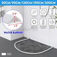 Shower Barrier Water Stopper Threshold Water Dam Collapsible Retention Bathroom