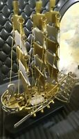 New Sailor Collectible Nautical Solid Brass Crafted Marine Sailors Ship Model Re