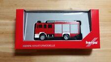 "Herpa 092913 H0 Man m 2000 Camión de bomberos Hlf 20 ""bombero"" Epoche VI"