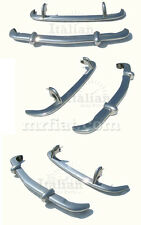 Fiat 1500 Spider Bumper Set New