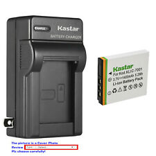 Kastar Battery Wall Charger for Kodak KLIC-7001 & Kodak EasyShare M1063 Camera