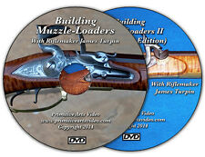 Building Muzzle Loaders I and II with James Turpin (2 DVD Set) / muzzleloaders