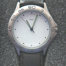 Titanium Herren-Armbanduhr Quarz 36mm Leder Titan antiallergisch Leuchtzeiger