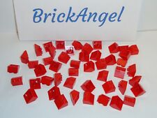 NEW LEGO Red 2X2 45° Slope Bricks Wedge Roof Lot of 100 Pieces 3039