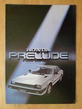 HONDA PRELUDE orig 1978 1979 UK Mkt Sales Brochure - 1st Gen