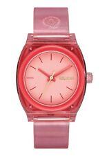 Nixon Women's Medium Time Teller P A1215685-00 31mm Red Dial Watch