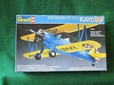 REVELL STEARMAN PT-13D KAYDET AIRCRAFT MODEL KIT 1/72 #4116