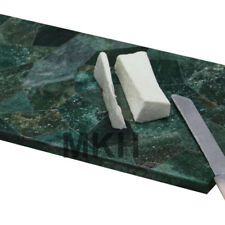 Italian Marble Cheese Platter Cutting Board Inlay Gem Stone Tray Pietra Dura