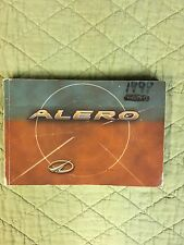 00 2000 Oldsmobile Alero Owners Manual Guide FREE SHIPPING Book SMOKE FREE Owner