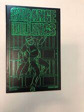 Strange Killings 1 Leather Variant Cover 2002 Avatar Comics Warren Ellis