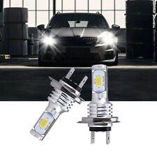 FITS SKODA FABIA MK1 SET 2 x H7 LED HEADLIGHT BULBS FOG LIGHTS WHITE 6000K