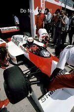 Alain Prost McLaren MP4/3 San Marino Grand Prix 1987 fotografía