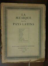 LA REVUE MUSICALE N° 3 JANVIER 1926 & Supplément Partition - Rare