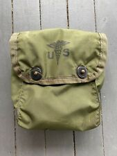 US Military Medical Instrument Supply Case Empty FIRST AID KIT OD No Belt Hooks