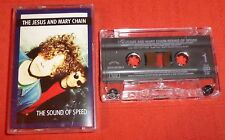 JESUS & MARY CHAIN - UK CASSETTE TAPE - THE SOUND OF SPEED