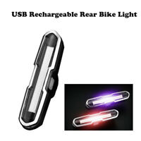 Luce Ricaricabile USB Fronte Posteriore LED Impermeabile per MTB Bici Bicicletta