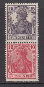 GERMANY - WEIMAR MNH** ZD S9fa   cv 540$   from Booklet 15+10 vert.  RARE
