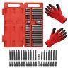 40 Piece Hex Star Torx Spline Socket Bit Set Tool Kit Garage Tools Equipment UK
