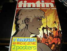 RARE! ALBUM COMPLET TINTIN N°10 (regroupant 10 revues) - 492 PAGES - 1974