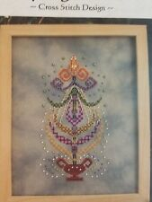 Turquoise Graphics and Designs Cross Stitch Chart : Spring Dance
