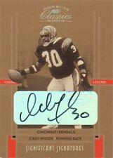 Ickey Woods 2005 Donruss Classics legends autograph auto card 108 /150
