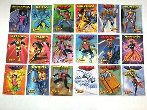 1997 FLEER SKYBOX X-MEN .99 BASE 50 CARD SET WOLVERINE '97 DARK PHOENIX CABLE!
