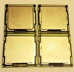 4x LOT Intel Core i3-550 SLBTD SLBUD CPU 3.2GHz Dual Core i3 Processor LGA 1156