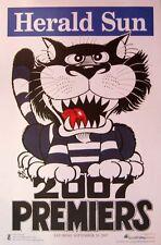 2007 GEELONG CATS GRAND FINAL PREMIERS PREMIERSHIP WEG KNIGHT POSTER SELWOOD