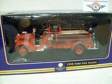 "Ford Fire Engine ""georgetown"" 1938, rojo, yat-ming 1:24, embalaje original"