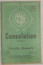 1930 OSVALDO BRUNETTI CONSOLATION SPARTITI ORCHESTRA