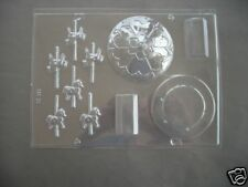 3-D CAROUSEL/roundabout chocolate mould/pony/horse/christening/cake topper/kids