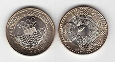 COLOMBIA - NEW ISSUE BIMETAL 1000 PESOS UNC COIN 2012 YEAR TURTLE