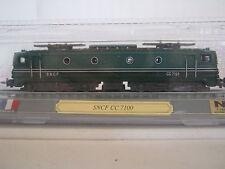 Del Prado Standmodell N Lokomotive BR CC 7100 SNCF Frankreich (RG/BH/6S6)