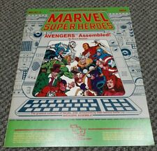 Avengers Assembled - Marvel Super Heroes - Role Playing Game TSR MHAC2 6854