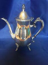 "Leonard Silver Coffee Pot - 10"" - Silver plate"