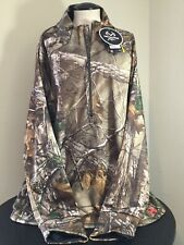 Under Armour Storm women's Camp 1/2 Zip Hunting Shirt 2XL realtree camoflage