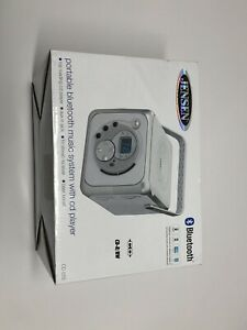 Jensen Cd-555 Portable Bluetooth Music System With Cd Player, New!