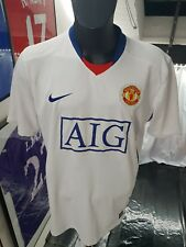 Maillot jersey trikot maglia camiseta shirt manchester united 2008 2009 ronaldo
