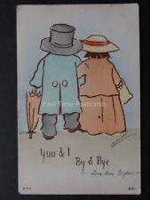 Cynicus: Love & Romance YOU & I - BY & BYE c1902 UB