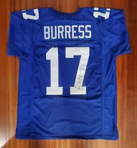 Plaxico Burress Autographed Signed Jersey New York Giants PSA DNA
