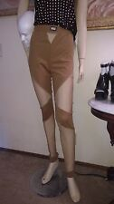 Shade London stretch mesh insert leggings pants Dolls Kill L-XL NWT inseam 35