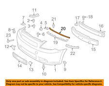 Scion TOYOTA OEM 05-10 tC Front Bumper-Upper Seal 5339521010