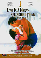 Love Is a Many-Splendored Thing (1955) - William Holden,Jennifer Jones - DVD NEW