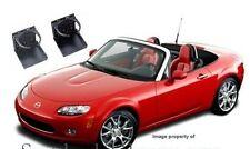 BLACK OEM-look folding European JDM CUP HOLDER Mazda Miata MX5 GTX RX7 1 X PAIR