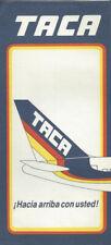 TACA International Airlines ticket jacket wallet 767 tail [0102]