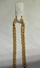 """Awesome Chain For All Occasions 2.5 Mm Diamond Cut Rope 30"""""""