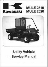 1993-2000 Kawasaki Mule 2510 / Mule 2520 ( KAF620 ) UTV Service Manual CD