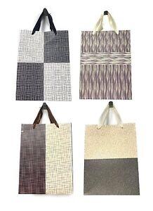 Lot de 4 Sacs Papier Cadeaux FILAMENTS ASSORTIS MM 32 x 26 x 10 cm