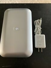 PhoneSoap 500-4 V.3 UV Cell Phone Sanitizer And Dual Universal Charger Silver